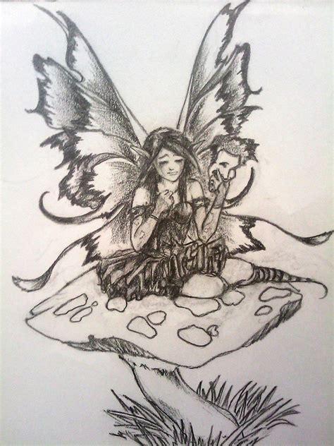 dark fairy tattoo designs design by faustob on deviantart