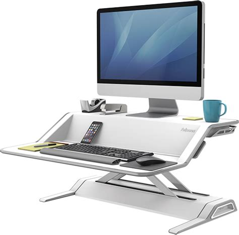 Desk Computer Stand Sit Stand Solutions Fellowes 174