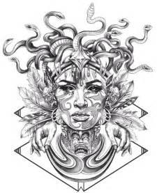Medusa tattoo drawing medusa tattoo designs madscar