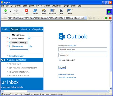 how to open an email template in outlook 2010 evalid testing microsoft outlook email