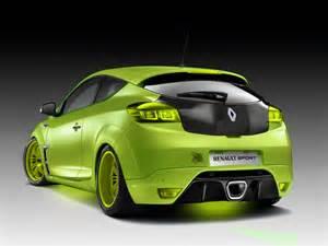 Green tuning renault megane 3 tuning de color verde con salida de