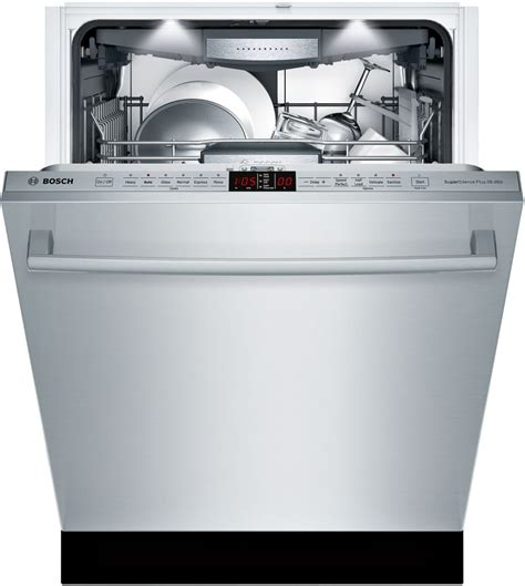 Bosch Dishwasher 3rd Rack by Bosch Shx9pt75uc Fully Integrated Dishwasher With 3rd Rack