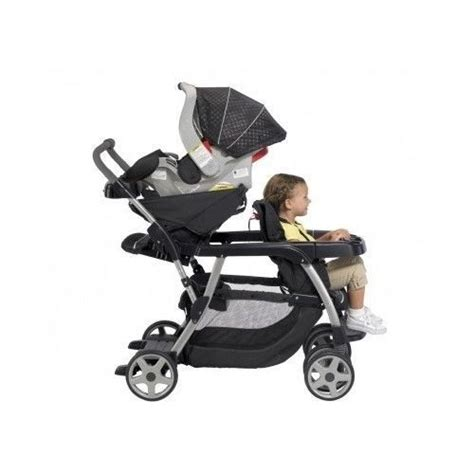 toddler and infant stroller graco ready2grow classic connect lx stroller metropolis
