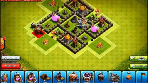Town Hall 5 Best Base Hd Pic   clash of clans epic town hall 5 farming base hd youtube