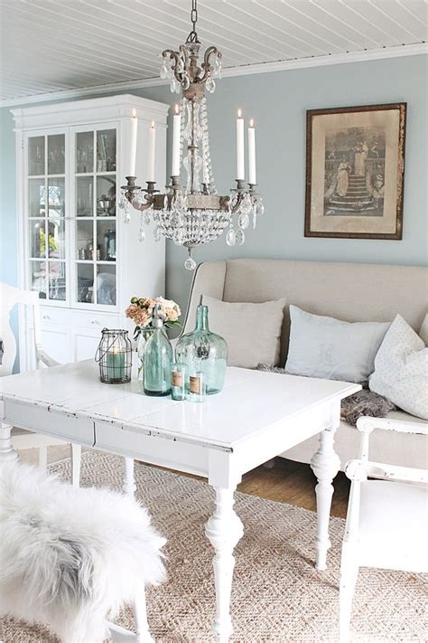 Shabby Chic Living Room Paint Colors by Estilo Shabby Chic