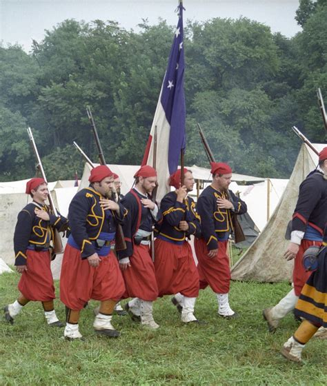 civil war zouave hairstyles coppens louisiana zouaves the flag is the first national