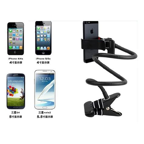 Phone Holder Stand Lazypod Mobile Phone Monopod Tripod 8 1 lazypod mobile phone monopod tripod 8 black