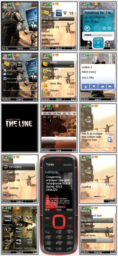 themes nokia s40 240x320 spec ops the line quot theme for nokia s40 240x320 quot by yurax