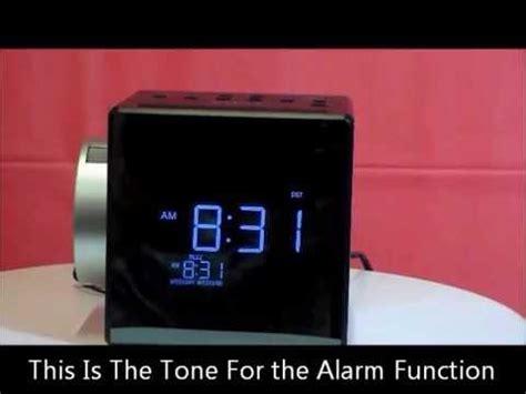sony icf cpj projection auto set dual alarm clock radio