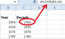 formula friday floor function in excel find out the