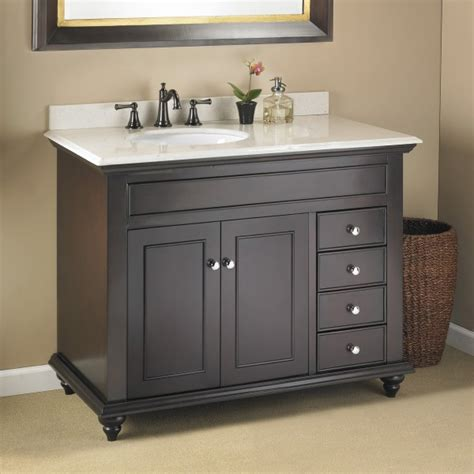 mayfield  single sink vanity mission hills furniture