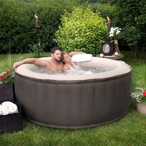 portable jacuzzi for bathtub therapurespa portable inflatable spa hot tubs at hayneedle