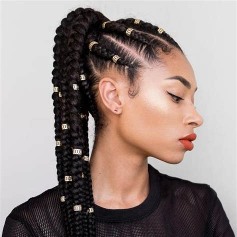 20 cornrow braid hairstyles
