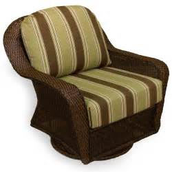 tortuga outdoor wicker swivel glider