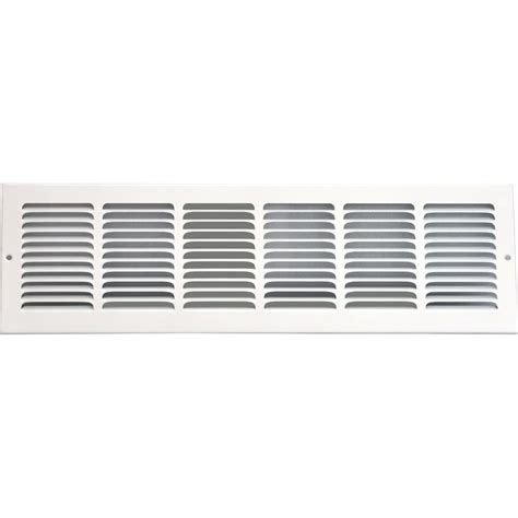 Grille Vent Cover by Speedi Grille 24 In X 8 In Return Air Grille Vent Cover