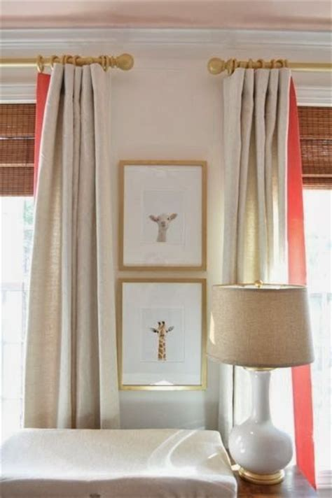 Neutral Nursery Curtains Best 2912 Window Treatments Images On Pinterest Design
