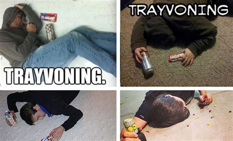 Trayvoning Meme - disturbing quot trayvoning quot trend resurfaces on twitter after
