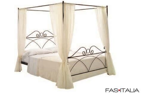 baldacchino per letto matrimoniale letto matrimoniale a baldacchino in ferro fas italia