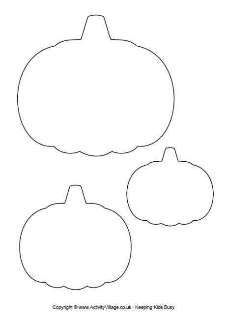 5 best images of printable pumpkin templates pumpkin