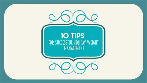 4 weight management 10 tips for weight management infographic