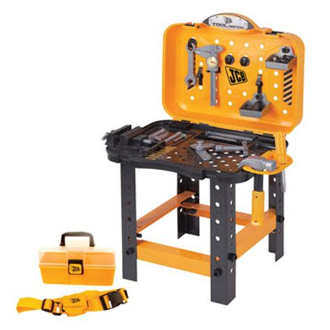 building a tool bench jcb building toys