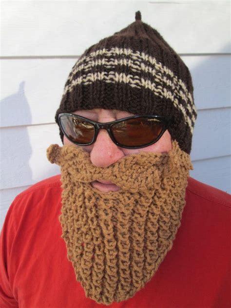 knit beard beard hat beard beanie bearded hat knitted beard
