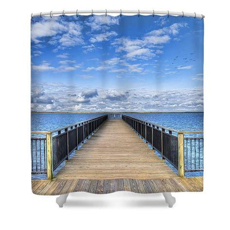 boat dock curtains dock shower curtains pixels