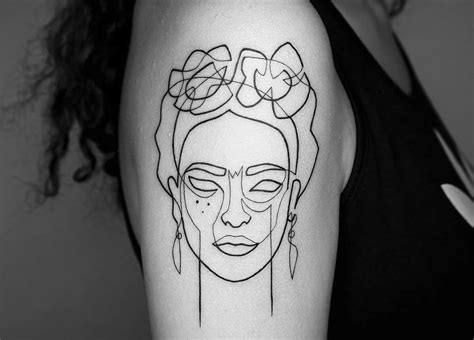 simple tattoo linework 10 artists creating powerful tattoos using only lines