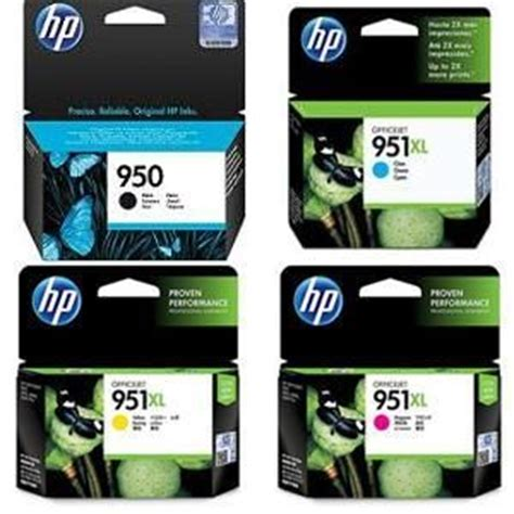 Barang Istimewa Catridge Hp 951 Xl Cyan hp 950 black 951xl cyan magenta yellow ink cartridge set review and buy in dubai abu