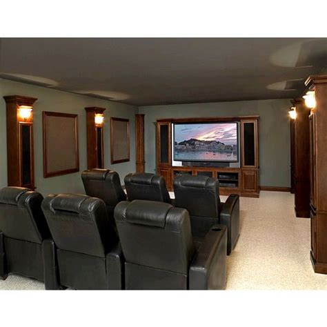 Home Theater Hvn home theater west entertainment center base molding from encore