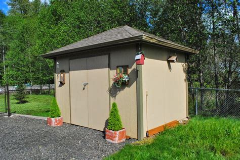 Composite Shed by Yard And Garden Shed Built With Torsion Box Composite
