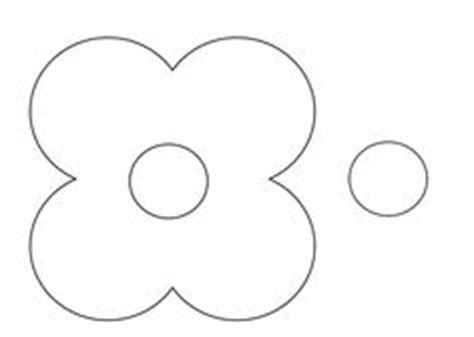 flower templates on pinterest flower template felt
