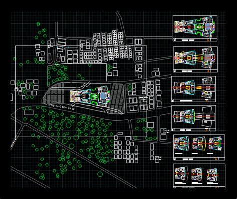 shopping mall dwg plan  autocad designs cad