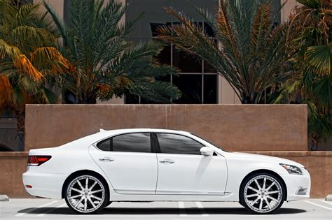 lexus ls custom lexani wheels the leader in custom luxury wheels the