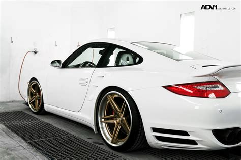 porsche wheels porsche 997tt adv05 track spec sl wheels lug bolts