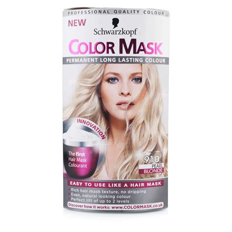 schwarzkopf color mask 910 pearl hair color chemist direct