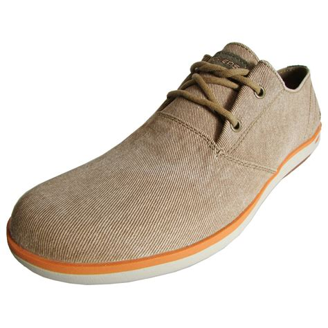 skechers oxford shoes skechers mens relaxed fit spencer leandro 64077 oxford