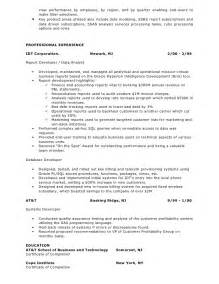 Sle Resume For Experienced Analyst Sle Resume Data Analyst Data 100 Images Sle Data Entry Resume Health And Safety Executive
