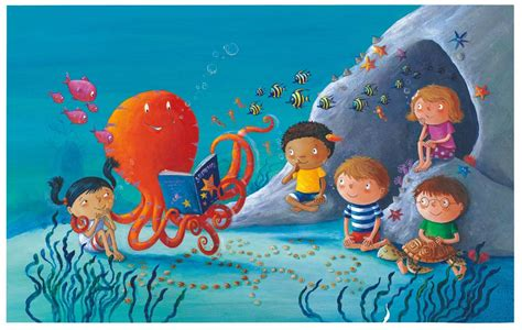 ringo starr octopus garden book octopus s garden is brought to life by ringo as a kid s
