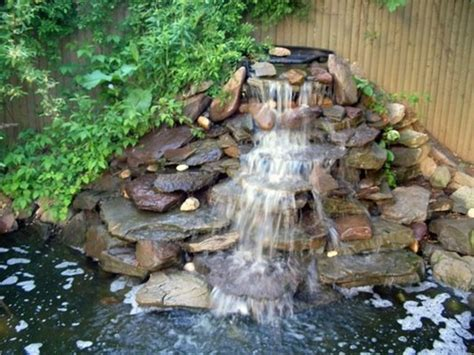 how to build a pool waterfall building a koi pond waterfall house exterior and interior