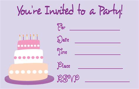 Birthday Card: Simple Birthday Card Invitations Birthday