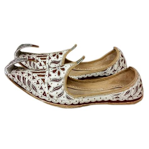 indian shoes for indian beak shoes khussa in white style