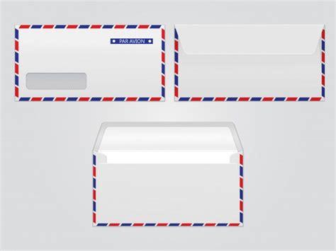 Par Avion Par E Mail vector mail envelope par avion blank paper envelopes for