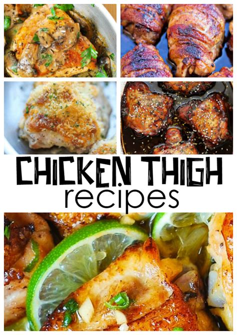 what recipes can i make with chicken thighs crafty morning