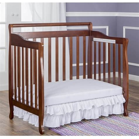 Dream On Me 4 In 1 Mini Convertible Crib In Espresso 626 E Espresso Mini Crib
