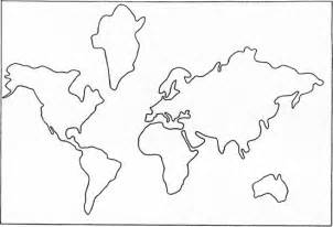 Continental Us Outline by Best Photos Of Simple Continent Outline Seven Continents Cut Outs Seven Continents Cut Outs