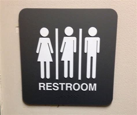 uni bathroom signs beyond bathrooms christians need to get a clue on