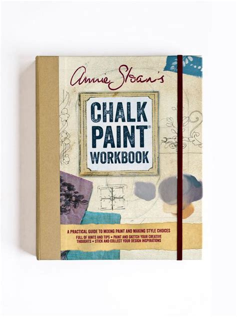 chalk paint books sloan chalk paint work book