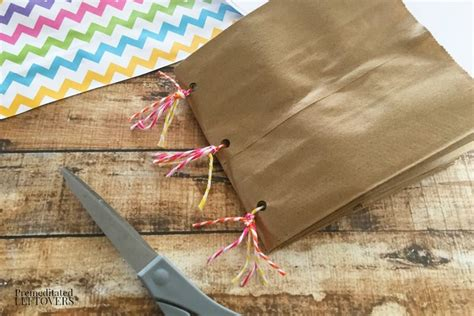 Make A Paper Book - how to make a paper bag book for