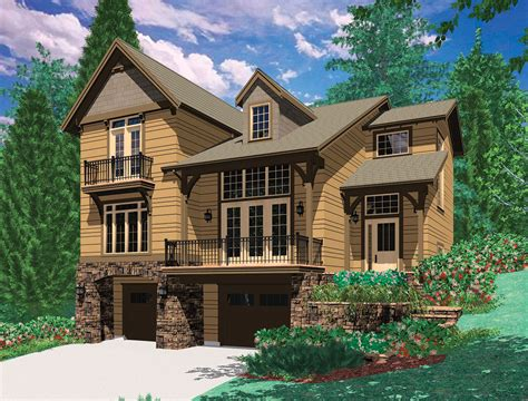 dual master suites plus loft 15801ge architectural craftsman with two story great room 69035am 2nd floor